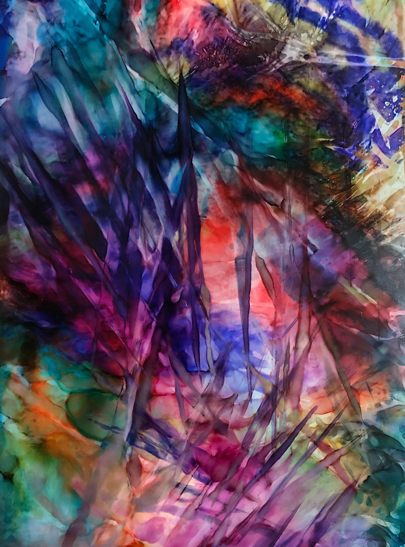 Bryant Small (BFLY777) Alcohol Ink Artist - TheJCAST